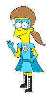 Me in The Simpsons style by Toongirl18