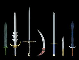 Sword Set by Xelitron