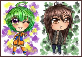 Chibi commissions from 2011 by Chao-Illustrations