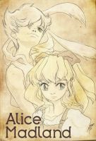 Alice and WR by DaineN
