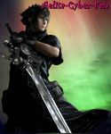 In the sky... Yeah, here it's my love - Noctis. by Aelita-Cyber-Fan