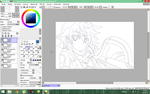Unfinished Sinon drawing by Tranzicola