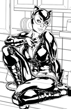 Catwoman by Sinned1990PD