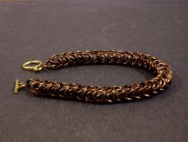 Box Chain 4-1 Bracelet by gnomeofmaille
