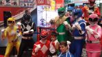 NYCC 2014 - The Original 6 Power Rangers Together by DestinyDecade