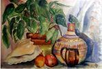 Still LIfe in Cool Pastels by EverIris