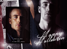 CHRIS EVANS | HAPPY HALLOWEEN by bylopezandtoxic