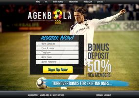 Web Design: Football Sales Page by ab6421