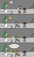 Palutena's Request by sonickirbyfanno7np10