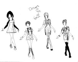Fashion Designs-- Voting Needed(Open) by AkatsukiEmi