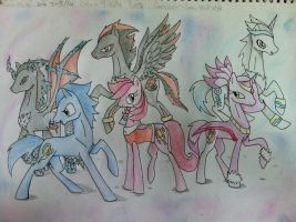Crossover : Sonic MLP style by ultimate-galaxy
