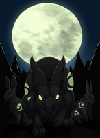 Watership Down - The Black Rabbit by fiszike