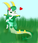 Rose-Li the Serperior 2 by KendraTheShinyEevee