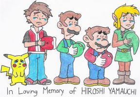 In Loving Memory of Hiroshi Yamauchi by nintendomaximus