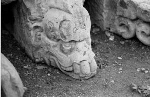 Mayan Death head by random-soul
