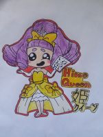 Yo-Kai Watch (The Hime Queen, Princess Speech) by ENDORE050