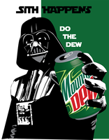 sith happens, do the dew by Jeff2psyco