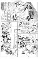 X-Men Pencils pg. 4 by ExecutiveOrder9066