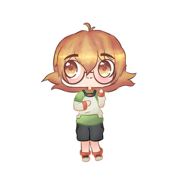 Chibi Pidge [Voltron] by Jupiterssdaughter
