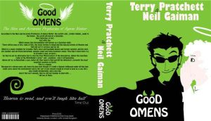 Good Omens Book Jacket by michael-keehl
