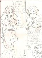 High School Days book 1 page 1 by Bellawho1
