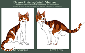 Before and After Meme   Raywhisker by INfernoLynx