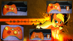 Applejack Custom Controller by ChilledFrost