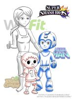New character for Super Smash Bros Wii U by Liusy