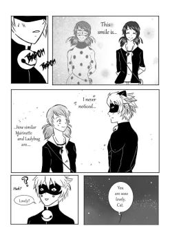 ML Comic: Lovely (Marinette x Cat Noir) Page 7 by 19Gioia93