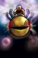 Pac-Man Rider by iEvEtS