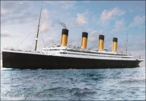 The Sea Trials of the Lady Olympic - REVISED by RMS-OLYMPIC