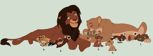Cubs For Mima139 by MsMonstrosity