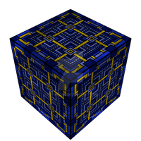 Sky Cube by Manroose