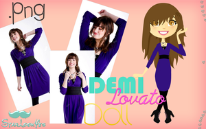 Doll Demi Lovato .PNG by StarLookYes