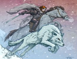 For Winterfell - Color Version by timwann