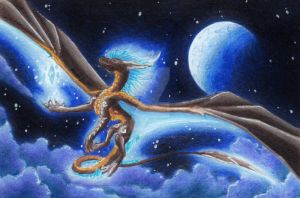 ACEO Sky Dancer by Windspirit-Aquaeris