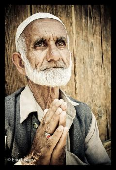 A Praying Man by eric-taylor