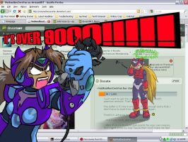 IT'S OVER 9000-excla point- by NotAnotherZeroFan