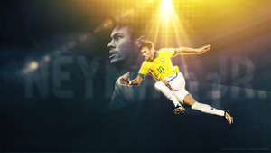 neymar jr by osmans9