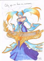 LOL : Sona by tonyzuka