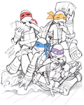Summer Turtles by Captain--Ruffy