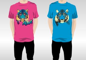 ROAR - What color? by pica-ae