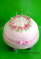 Pincushion Cake by Verusca