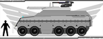 Alliance Unmanned APC WIP by Jon-Michael-May