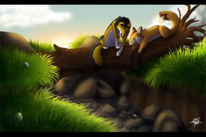 Easter Morning by Silvixen