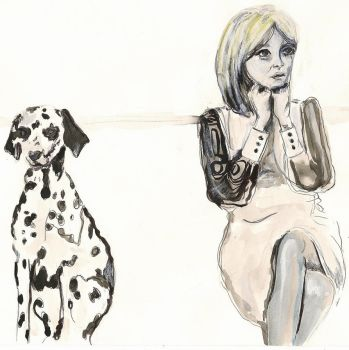 Dalmation and Marianne by jaymieocallaghan