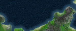 This is a WIP of a coastline by Renacido