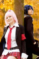 Amu and Ikuto - Shugo Chara by KashinoRei
