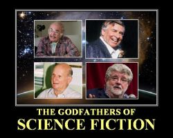 The Godfathers of Science Fiction by DoctorWhoOne