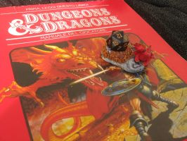 Dragon Dice Diorama for Pathfinder or DnD 2 by SelloCreations